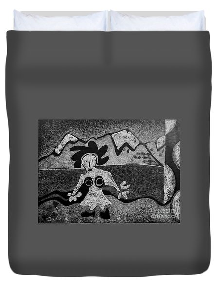 Swiss Miss Duvet Cover