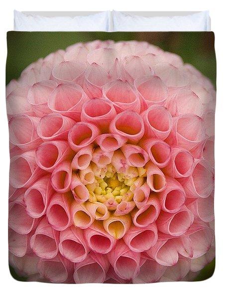 Symmetrical Dahlia Duvet Cover