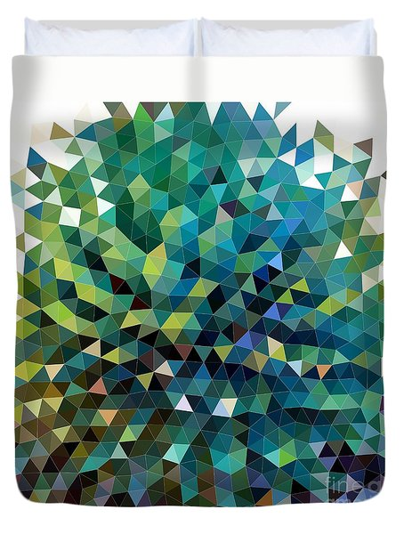 Synchronicity Of Color Duvet Cover