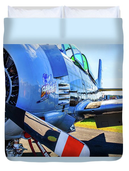 T-28b Trojan Banshee  Duvet Cover