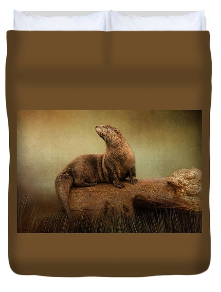 Taking In The View Duvet Cover