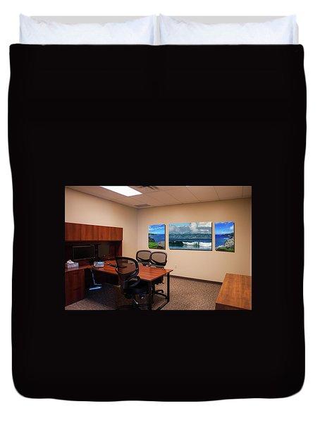 Tamara Office West Wall Duvet Cover