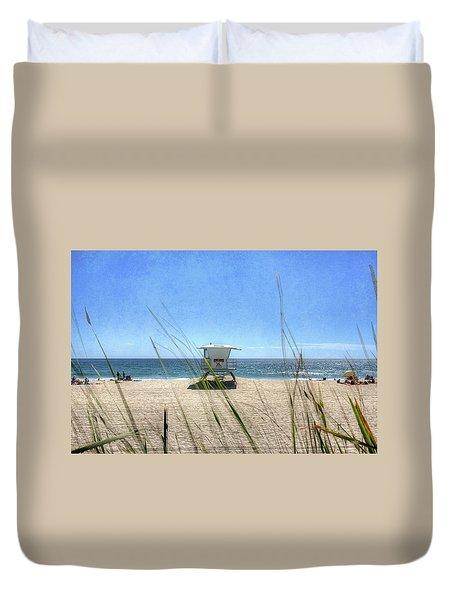 Tamarack Beach Duvet Cover