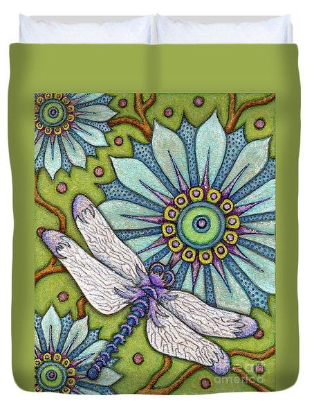 Tapestry Dragonfly Duvet Cover