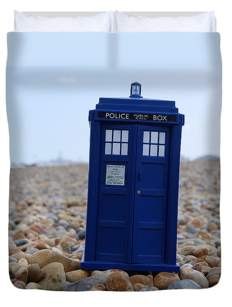 Tardis - Vacation Duvet Cover