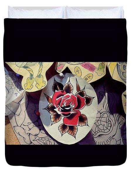 Tattoo Duvet Cover