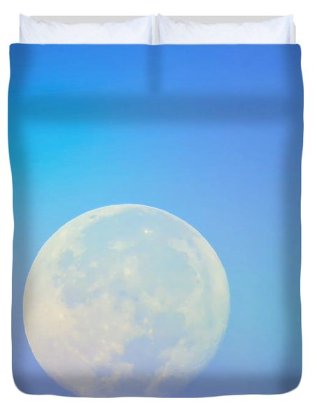 Taurus Almost Full Moon Blend Duvet Cover