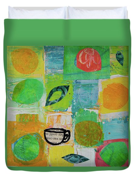 Tea Box 2 Duvet Cover