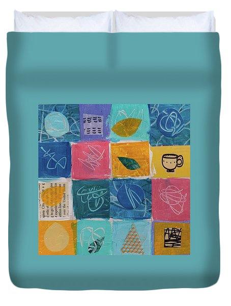 Tea Box One Duvet Cover