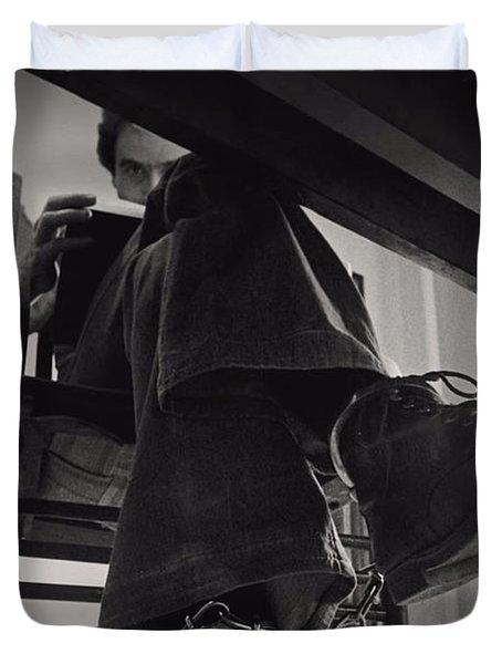 Ted Bundy Desk Duvet Cover