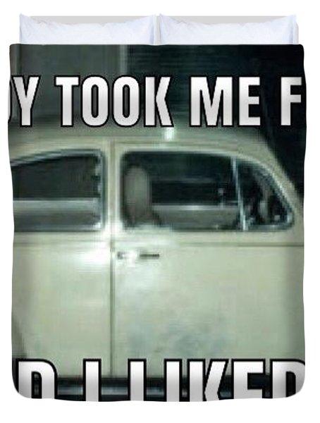 Ted Bundy Ride Duvet Cover