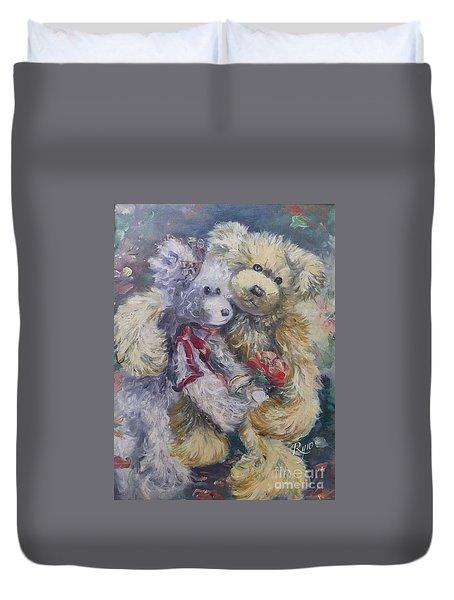 Teddy Bear Honeymooon Duvet Cover