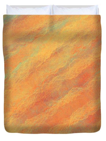 Tempered Lava Duvet Cover