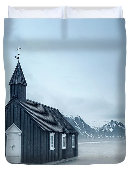 Temple Of The Winds Duvet Cover