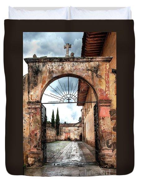 Templo Del Sagrario Duvet Cover