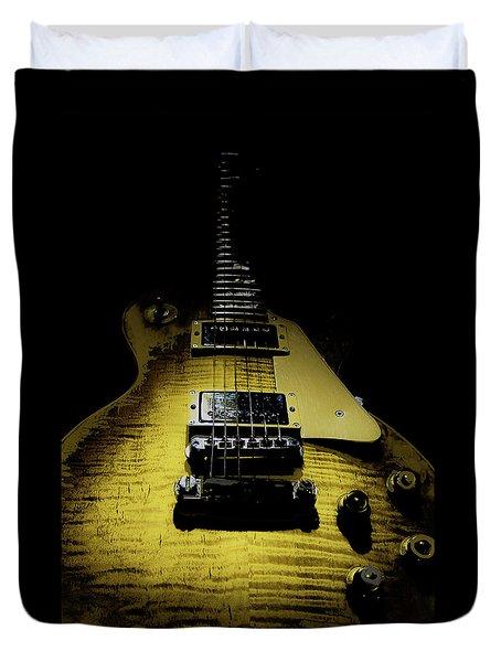 Honest Play Wear Tour Worn Relic Guitar Duvet Cover