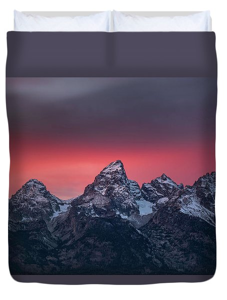 Teton Magic Duvet Cover