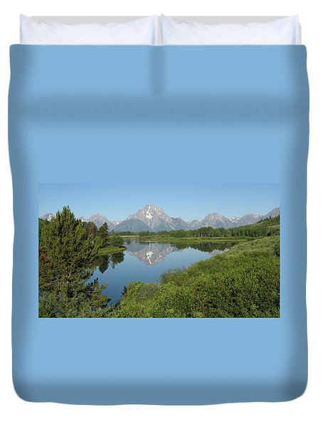 Teton Moment Duvet Cover