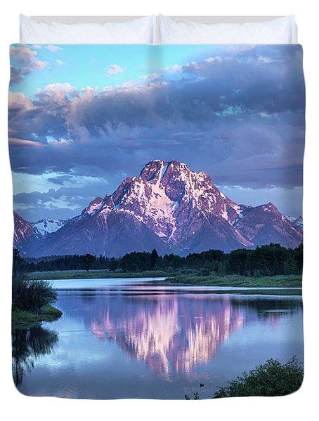 Teton Oxbow Morning 9087 Duvet Cover