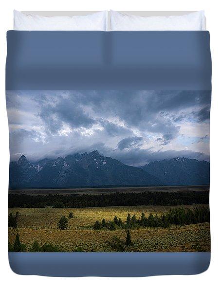 Teton Park Duvet Cover