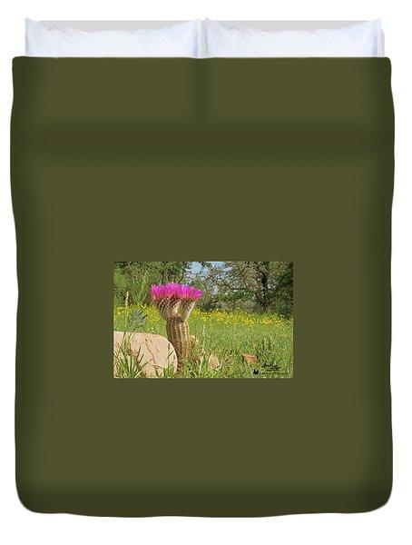 Texas Lace Duvet Cover