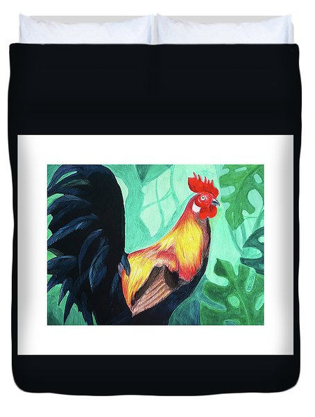 That Rooster Duvet Cover
