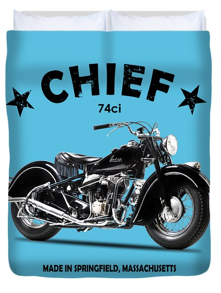 The 1947 Chief Duvet Cover