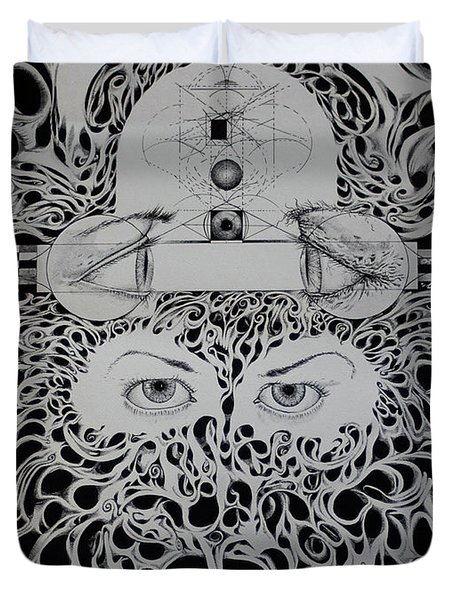 The All Seeing Eyes Duvet Cover