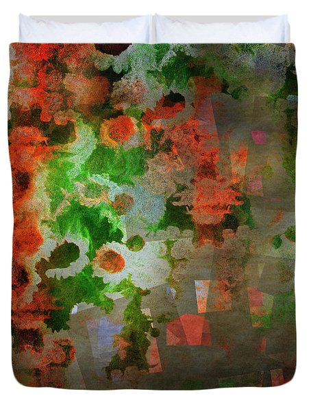 Duvet Cover featuring the digital art The Anesthetised Soul by Edmund Nagele