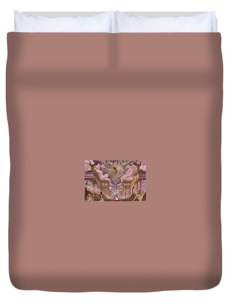 The Angels Palace Duvet Cover
