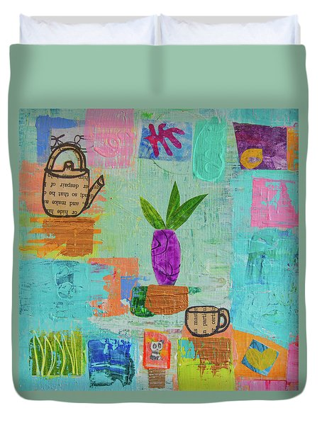 The Art Of Tea Two Duvet Cover