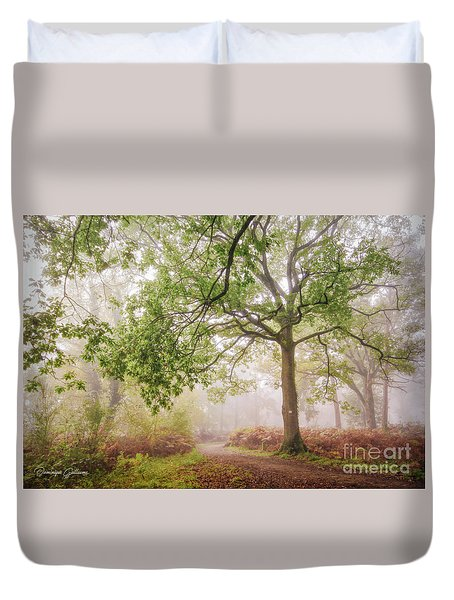 The Autumn Path Duvet Cover