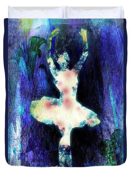 The Ballet Dancer Duvet Cover