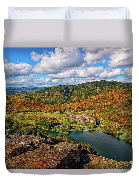 The Balsams Resort Autumn. Duvet Cover