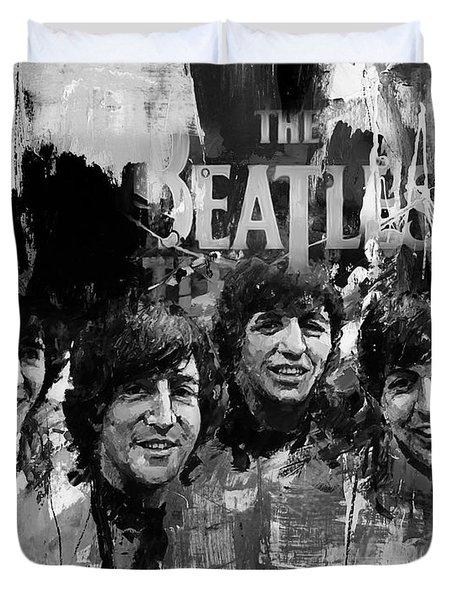 The Beatles Bk Duvet Cover