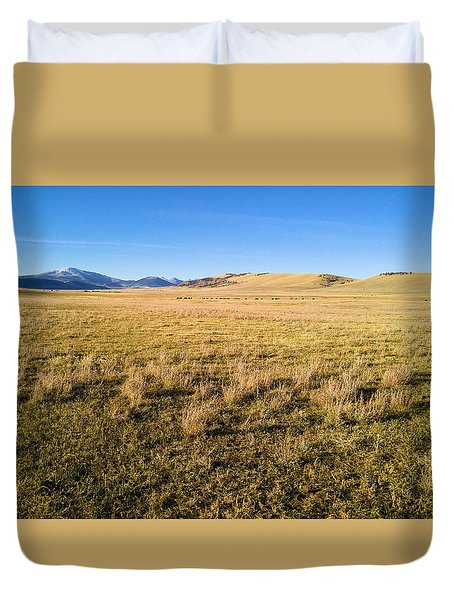 The Beautiful Valley Duvet Cover