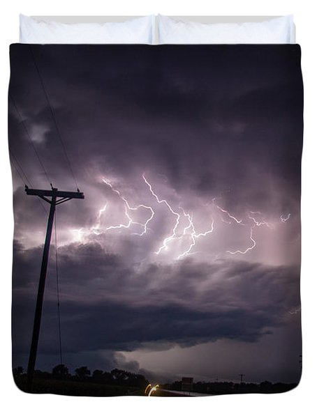The Best Supercell Of The Summer 040 Duvet Cover