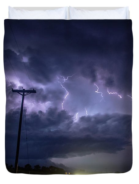 The Best Supercell Of The Summer 043 Duvet Cover