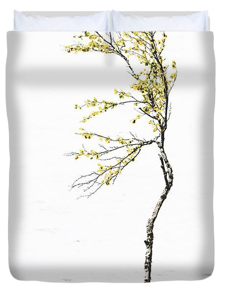 The Birch Tree Duvet Cover