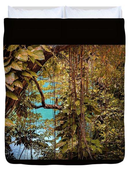 The Blue Lagoon Duvet Cover
