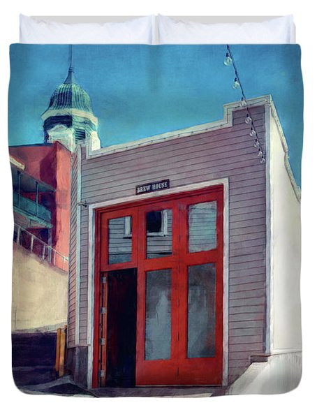The Brewing House - Old Bisbee Brewing Company - Arizona Duvet Cover