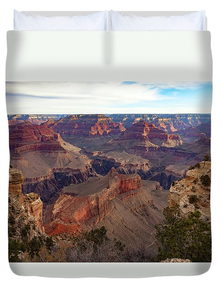 The Canyon Awakens Duvet Cover