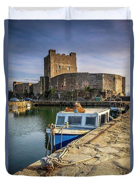 The Castle Harbour Duvet Cover