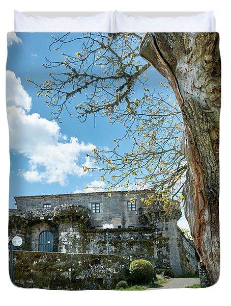 The Castle Of Villamarin Duvet Cover