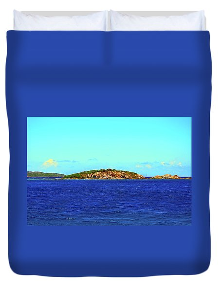 The Cay Duvet Cover