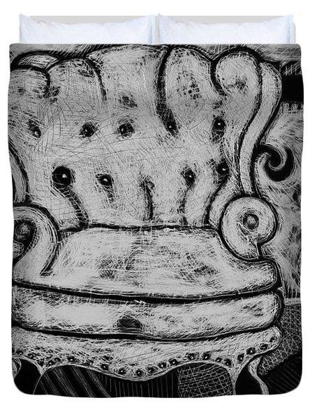 The Chair. Duvet Cover