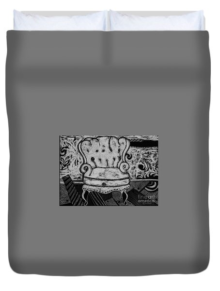 The Chair. Duvet Cover