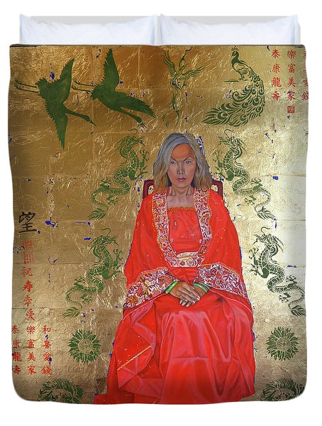 The Chinese Empress Duvet Cover