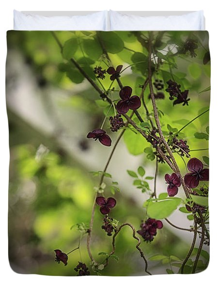 The Chocolate Vine Connection Duvet Cover