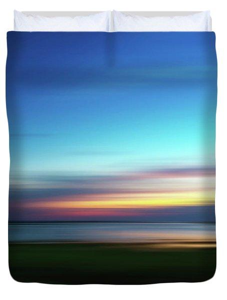 The Colors Of Dusk Duvet Cover